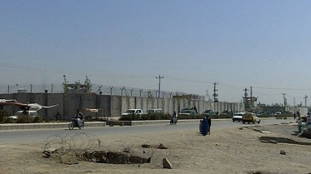 A general view of the Kandahar prison