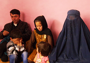 Afghan girl family demands justice for kidnapped daughter who was then married off to an older man