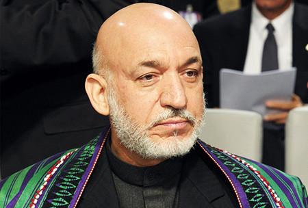 Karzai in Bonn Conference