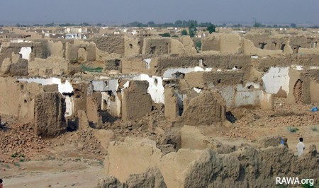 Khewa camp in Pakistan