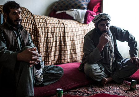 Khodaidad, formerly of the Afghan Local Police, and his brother Ghulam Sakhi, accused of kidnapping and raping a young girl