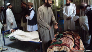 Khost blast Nov 26 2012 killed 2 injured 19