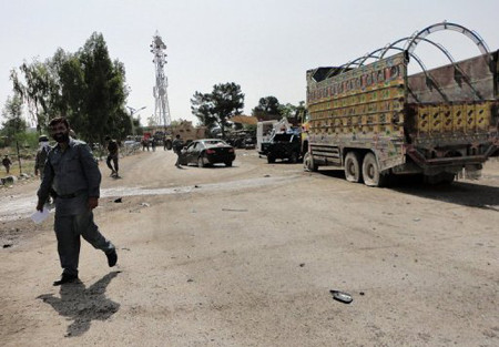 A suicide bomber in Khost has killed three people including a police chief