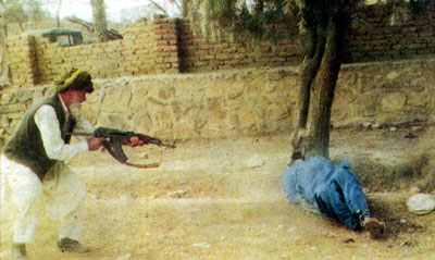 Taliban-style execution in Khost
