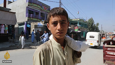 Khudai Nazar has been providing for his five sisters and ailing mother since the killing of his father