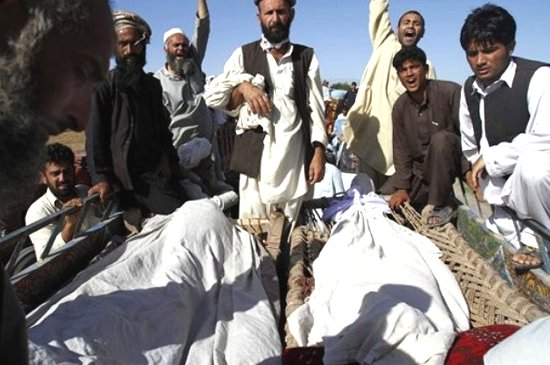 Civilians killed by NATO in Nengrahar