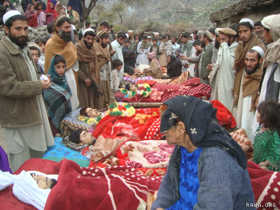 People of Narang district are mourning