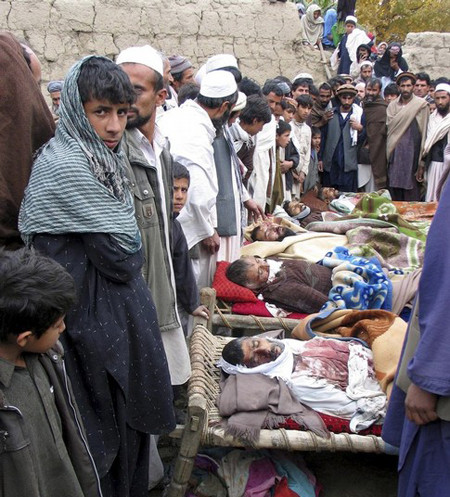 Civilians killed in Laghman province