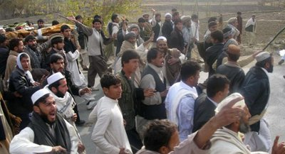 Anti-US protest in Laghman