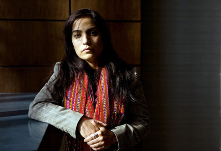Malalai Joya in Toronto while promoting her book