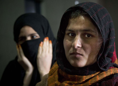Afghan female prisoner Mariam at Badam Bagh, Afghanistan's central women's prison, in Kabul, Afghanistan