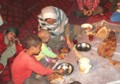 Poor Kabulis survive by eating domestic animals food