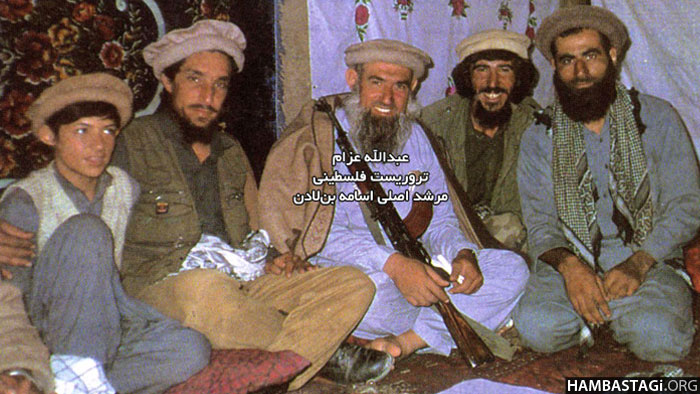 Ahmad Shah Massoud with Abdullah Azzam