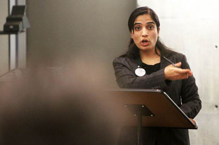 Malalai Joya speaks at Calgary University