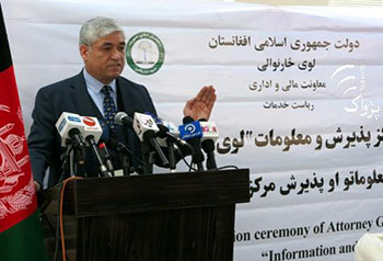 Mohammad Farid Hamidi, Afghan attorney general