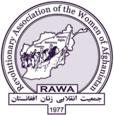 Monogram of the Revolutionary Association of the Women of Afghanistan