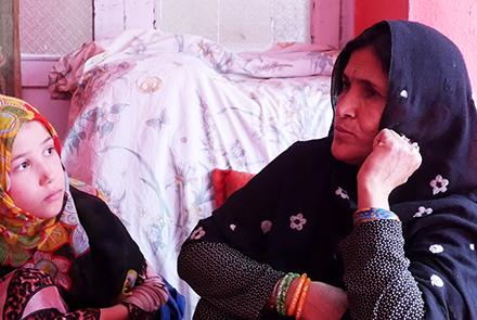 Domestic violence victim's mother seeks justice in Kabul