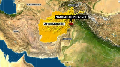 Nangarhar province on Afghanistan map