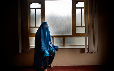 Young victim of forced and an abusive marriage in Afghanistan