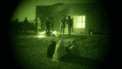 Night time raid in Farah province of Afghanistan