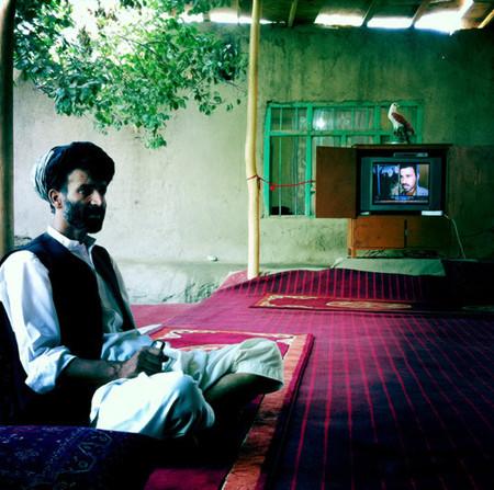 Nur-Ul Haq The commander of the Afghan Local Police in Shahabuddin