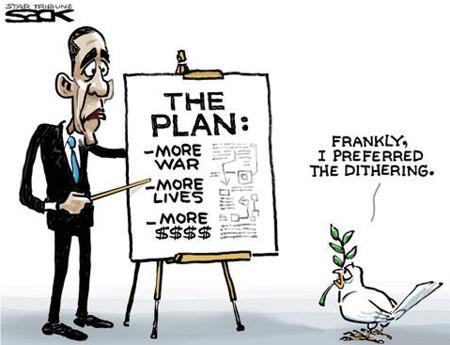Obama war plan
