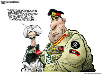 Pakistani generals support Taliban Haqqani