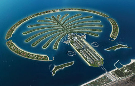 The Palm Jumeirah, Dubai, where $160m of Kabul Bank money was invested in luxury villas