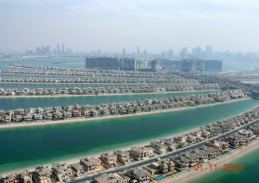 Palm Jumeiriah in Dubai