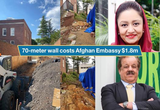 Corruption in the Afghan embassy in the USA