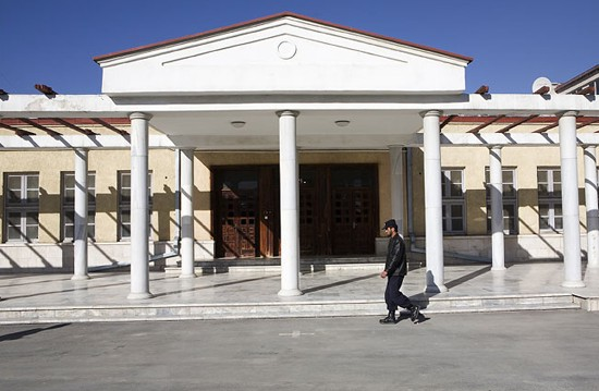Parliament building in Kabul is owned by the Chamber of Commerce where Mahmoud Karzai is vice chairman