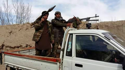 Militias belonging to commander Aynuddin Bagh Hesari, Pirum Qul's father-in-law