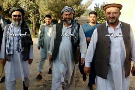 Pirum Qul with fellow criminals Kabir Marzban and Bashir Qant