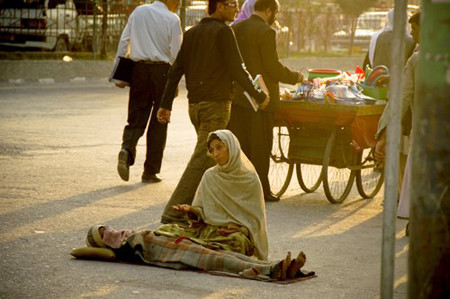 Poor people of Afghanistan