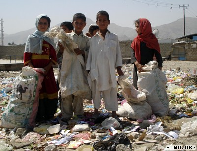 Poverty in Afghanistan hits 20 millions out of the 26 millions population