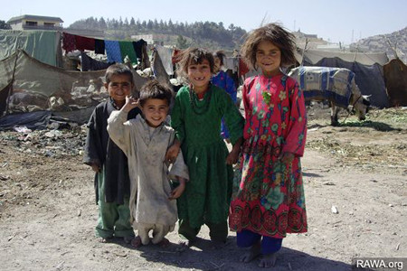 Nine million poor people in Afghanistan