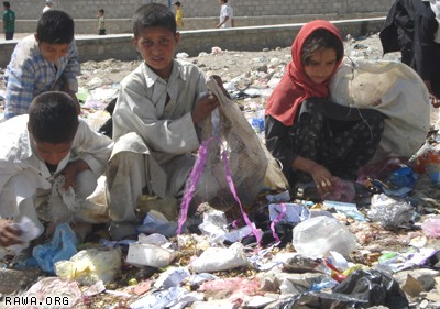 Poverty in Afghanistan