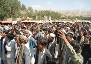 Protest in north Afghanistan