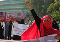 Protest demanding justice for martyr Farkhunda in Jalalabad city (PHOTOS)
