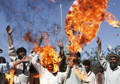 Hundreds rally against NATO forces in Logar