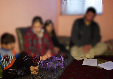 This young woman was raped by eight armed men five years ago in Badakhshan province