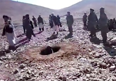Rokhshana stoned to death by Taliban in Ghor for eloping