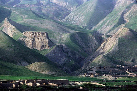 A view of samangan province