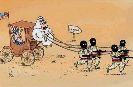 Saudi Arabia and US created by ISIS