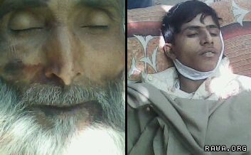 Sayed Rahim was killed with his five sons by the NATO troops