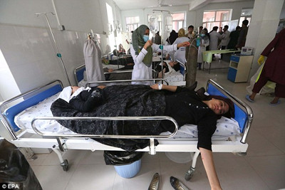 School girls poisoning in Herat in Afghanistan