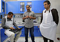 Inside Afghanistan's main forensic lab: Four scientists, one microscope