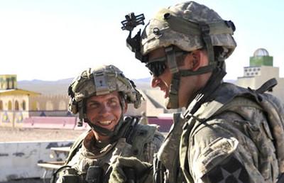 Staff sergeant Robert Bales, left, is accused of shooting dead 16 Afghan villagers, including nine children