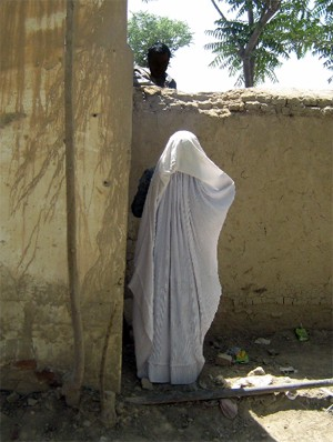 Sex worker in norhtern Afghanistan
