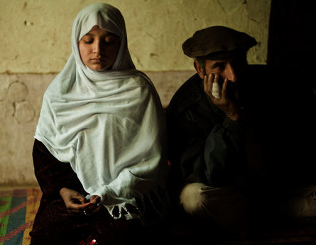 Shakila, 10, was abducted and held for about a year as part of a traditional Afghan form of justice known as baad